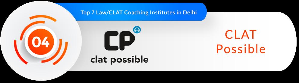 Rank 4- Best CLAT Coaching Institute in Delhi